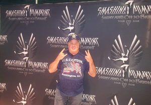 Jim attended The Smashing Pumpkins: Shiny and Oh So Bright Tour - Alternative Rock on Aug 24th 2018 via VetTix