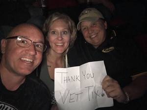Myrna attended The Smashing Pumpkins: Shiny and Oh So Bright Tour - Alternative Rock on Aug 24th 2018 via VetTix