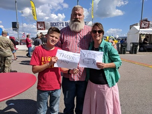 Patrick attended American Royal World Series of Barbecue on Sep 15th 2018 via VetTix