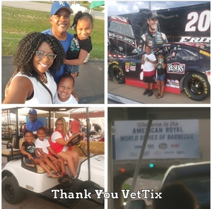 Oshaefields attended American Royal World Series of Barbecue on Sep 15th 2018 via VetTix