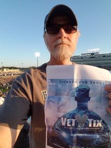 Paul attended UCONN Huskies vs. UCF Knights- NCAA Football on Aug 30th 2018 via VetTix