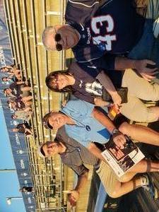 Clayton attended UCONN Huskies vs. UCF Knights- NCAA Football on Aug 30th 2018 via VetTix