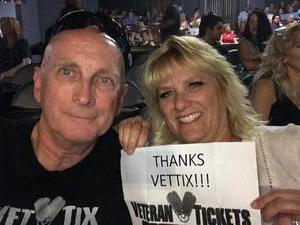 Robert attended Best in Show Tour Featuring Rick Springfield, Loverboy, Greg Kihn & Tommy Tutone on Aug 21st 2018 via VetTix