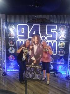 Zachary attended Best in Show Tour Featuring Rick Springfield, Loverboy, Greg Kihn & Tommy Tutone on Aug 21st 2018 via VetTix