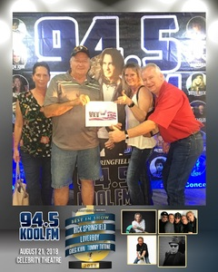 Cliff attended Best in Show Tour Featuring Rick Springfield, Loverboy, Greg Kihn & Tommy Tutone on Aug 21st 2018 via VetTix