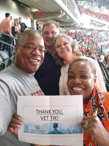 Rita attended Washington Huskies vs. Auburn Tigers - Chick-fil-a Kickoff Game! on Sep 1st 2018 via VetTix