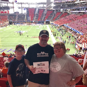 Click To Read More Feedback from Washington Huskies vs. Auburn Tigers - Chick-fil-a Kickoff Game!