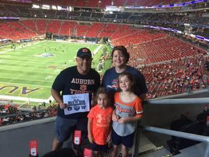Mike attended Washington Huskies vs. Auburn Tigers - Chick-fil-a Kickoff Game! on Sep 1st 2018 via VetTix
