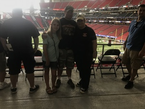 John attended Washington Huskies vs. Auburn Tigers - Chick-fil-a Kickoff Game! on Sep 1st 2018 via VetTix