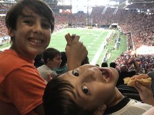 Matthew attended Washington Huskies vs. Auburn Tigers - Chick-fil-a Kickoff Game! on Sep 1st 2018 via VetTix