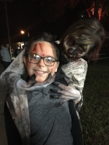 Sarah attended Wells Township Haunted House - Friday Night Show Only on Sep 28th 2018 via VetTix