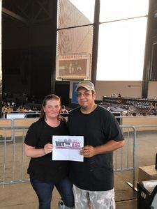 MICHAEL attended Miranda Lambert and Little Big Town: the Bandwagon Tour - Country on Aug 25th 2018 via VetTix