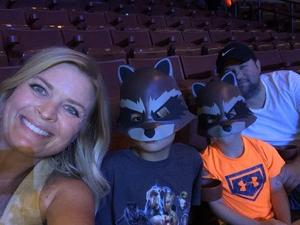 Efrain attended Marvel Universe Live! Age of Heroes - Presented by the Frank Erwin Center on Aug 24th 2018 via VetTix