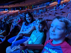 SETH attended Marvel Universe Live! Age of Heroes - Presented by the Frank Erwin Center on Aug 24th 2018 via VetTix