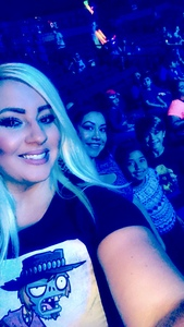 Julia attended Marvel Universe Live! Age of Heroes - Presented by the Frank Erwin Center on Aug 24th 2018 via VetTix