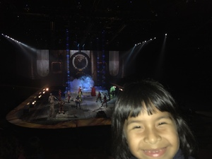 Danny attended Marvel Universe Live! Age of Heroes - Presented by the Frank Erwin Center on Aug 24th 2018 via VetTix