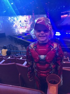 kevin attended Marvel Universe Live! Age of Heroes - Presented by the Frank Erwin Center on Aug 24th 2018 via VetTix