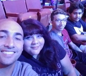 Antonio attended Marvel Universe Live! Age of Heroes - Presented by the Frank Erwin Center on Aug 24th 2018 via VetTix