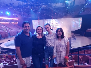 Robert attended Marvel Universe Live! Age of Heroes - Presented by the Frank Erwin Center on Aug 26th 2018 via VetTix