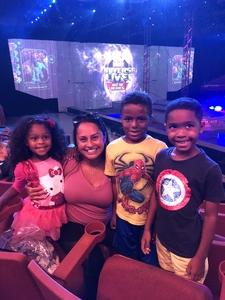 Nathalia attended Marvel Universe Live! Age of Heroes - Presented by the Frank Erwin Center on Aug 26th 2018 via VetTix