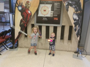 Lauren attended Marvel Universe Live! Age of Heroes - Presented by the Frank Erwin Center on Aug 26th 2018 via VetTix