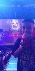 Michael attended Marvel Universe Live! Age of Heroes - Presented by the Frank Erwin Center on Aug 26th 2018 via VetTix