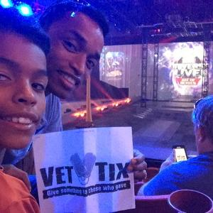 Christian attended Marvel Universe Live! Age of Heroes - Presented by the Frank Erwin Center on Aug 26th 2018 via VetTix