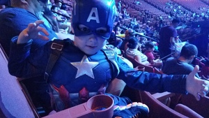 Brandon attended Marvel Universe Live! Age of Heroes - Presented by the Frank Erwin Center on Aug 26th 2018 via VetTix