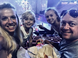 Tim attended Marvel Universe Live! Age of Heroes - Presented by the Frank Erwin Center on Aug 26th 2018 via VetTix