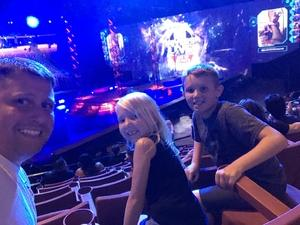 Anthony attended Marvel Universe Live! Age of Heroes - Presented by the Frank Erwin Center on Aug 26th 2018 via VetTix