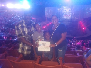 Kenneth R. Allen Jr. attended Marvel Universe Live! Age of Heroes - Presented by the Frank Erwin Center on Aug 26th 2018 via VetTix
