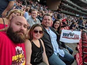 Michael attended Journey & Def Leppard Concert on Aug 24th 2018 via VetTix