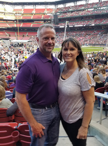 Greg attended Journey & Def Leppard Concert on Aug 24th 2018 via VetTix