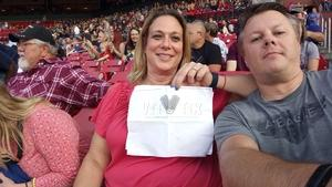 Mark attended Journey & Def Leppard Concert on Aug 24th 2018 via VetTix