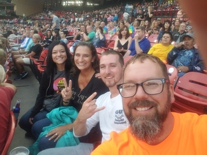 Scott attended Journey & Def Leppard Concert on Aug 24th 2018 via VetTix