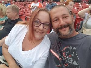 David attended Journey & Def Leppard Concert on Aug 24th 2018 via VetTix
