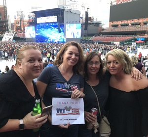 Gia attended Journey & Def Leppard Concert on Aug 24th 2018 via VetTix