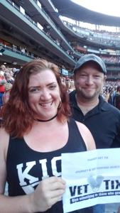 Tammie attended Journey & Def Leppard Concert on Aug 24th 2018 via VetTix