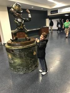 Enoch attended Notre Dame Fightin' Irish vs. Vs. Ball State Cardinals - NCAA Football on Sep 8th 2018 via VetTix
