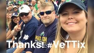 Mark attended Notre Dame Fightin' Irish vs. Vs. Ball State Cardinals - NCAA Football on Sep 8th 2018 via VetTix
