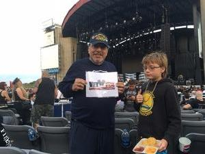 Armen attended Deep Purple & Judas Priest - Pop on Sep 1st 2018 via VetTix