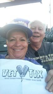Tammy attended Colorado Rockies vs San Francisco Giants - MLB on Sep 4th 2018 via VetTix