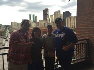 Juan attended Colorado Rockies vs San Francisco Giants - MLB on Sep 4th 2018 via VetTix