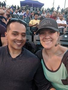 Jess and Tony attended Colorado Rockies vs San Francisco Giants - MLB on Sep 4th 2018 via VetTix
