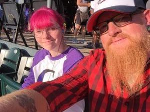 Emily attended Colorado Rockies vs San Francisco Giants - MLB on Sep 4th 2018 via VetTix