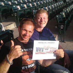 Ryan attended Colorado Rockies vs San Francisco Giants - MLB on Sep 5th 2018 via VetTix