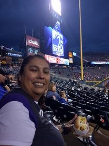 ROW attended Colorado Rockies vs San Francisco Giants - MLB on Sep 5th 2018 via VetTix