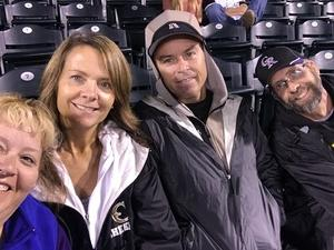 Mark attended Colorado Rockies vs San Francisco Giants - MLB on Sep 5th 2018 via VetTix