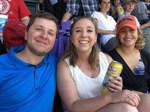 Deb attended Colorado Rockies vs San Francisco Giants - MLB on Sep 5th 2018 via VetTix