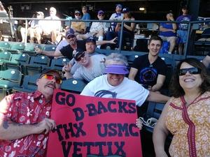 travis attended Colorado Rockies vs Arizona Diamondbacks - MLB on Sep 13th 2018 via VetTix